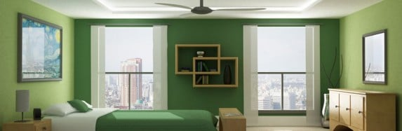 Bedroom Decorating Ideas : Going Greener